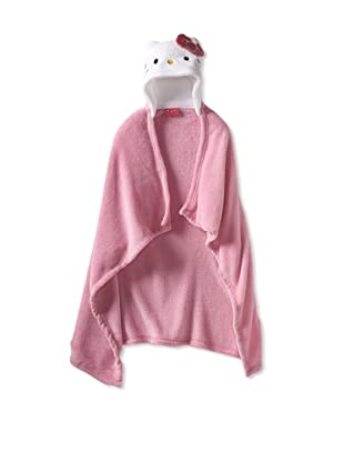 AME  Hello Kitty Hooded Wrap (Toddler)