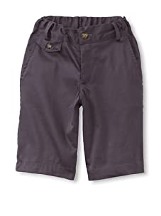 Peas and Queues Boy's Connor Shorts (Grey)