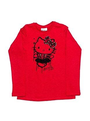 Diesel Camiseta Tamot-Hky (Rojo)