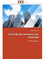 Le Fonds de Commerce Du Franchise (Omn.Univ.Europ.)
