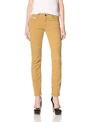 Rockstar Denim Women's Biker Jeans (Fall Winter Mustard)