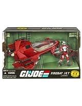 G.I. JOE 25th Anniversary Vehicle FireBat Jet with A.V.A.C.