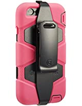 Griffin Survivor Case for iPhone 6 - Retail Packaging - Hot Pink/Black