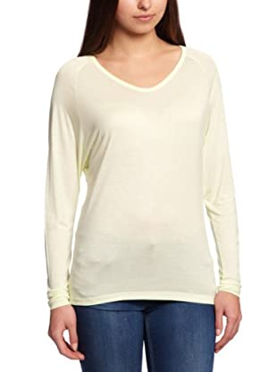 Selected Femme Camiseta Gisèle (Crema)