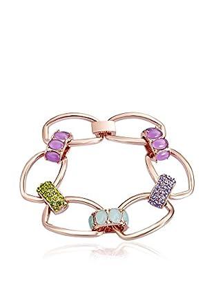 Saint Francis Crystals Armband Made with Swarovski® Elements rosévergoldet