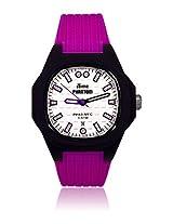 iTIME Analog White Dial Women's Watch - PH4300-PHD8 Phantom