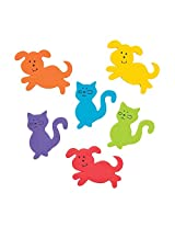 120 ~ Dog And Cat Foam Stickers / Self Adhesive Shapes ~ New