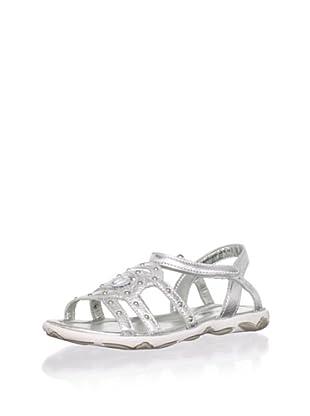 Venettini Kid's Lasso Sandal (Toddler/Little Kid) (Silver)
