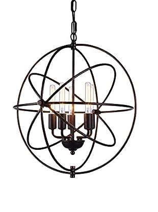 Urban Lights Vienna 5-Light Pendant Lamp, Dark Bronze