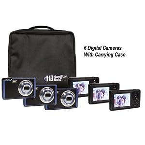 Digital Camera Explorer Kit - Six 5 MP Cameras & Nylon Carry Case