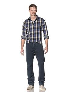4 Stroke Jean Men's Bracket Clairmont Trouser Style Jean (Indigo)