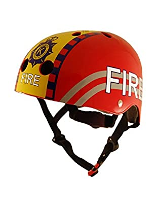 Kiddimoto Fahrradhelm Fire Fighter