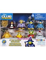 Super Duper Rare Disney Club Penguin 10 Piece Mix N Match Set