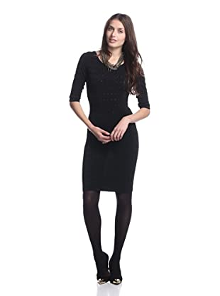 Stretta Women's Penelope Sheath Dress (Black)