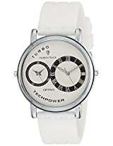 Optima Analog White Dial Men's Watch - FT-ANL-2523