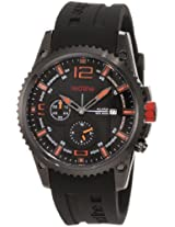 red line Men's 50031YM-BB-01OR Boost Black Dial Black Silicone Watch