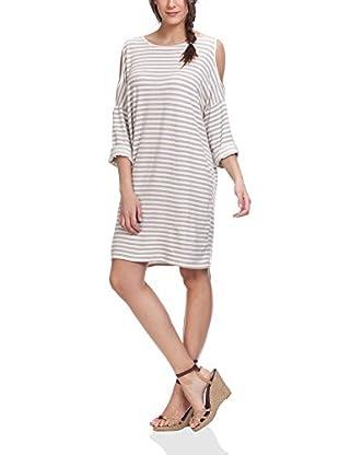 Tantra Kleid Off The Shoulder Striped