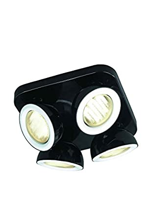 Massive Deckenlampe Energiespar-4er-Spotbalken