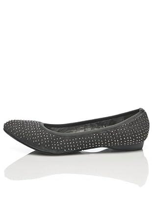 Apepazza Bailarina Tachuelas Pequeñas (gris oscuro)