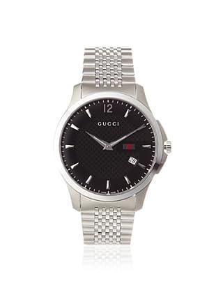 Gucci Men's YA126309 G-Timeless Slim Case Black Watch