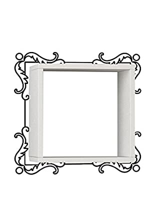 Best seller living Estantería De Pared Frame Blanco