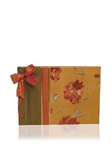 Molly West Crimson Bloom-Large Paper Album, Green/Orange