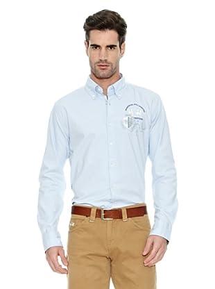 La Martina Camisa Hombre (Azul Claro)