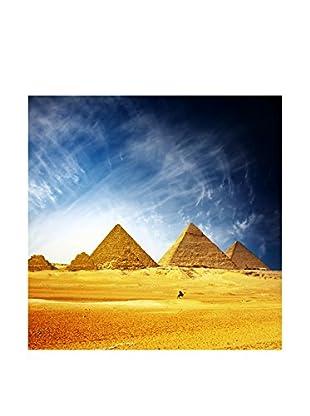 Legendarte Leinwandbild Piramidi Dorate