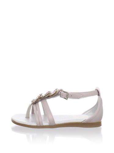 Pampili Kid's Butterfly T-Strap Sandal (Beige)