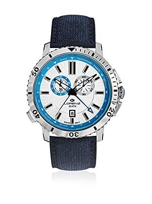 Lorenz Quarzuhr 26892DD blau 43 mm