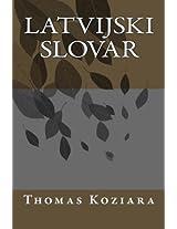 Latvijski Slovar