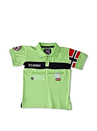 Geographical Norway Polo Karaft Ss Boy 100 (Verde)
