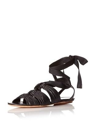Derek Lam Women's Moira Gladiator Sandal (Black)