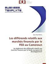 Les Differends Relatifs Aux Marches Finances Par Le Fed Au Cameroun