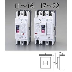 【クリックでお店のこの商品のページへ】EA940MN-15 AC100-230V/50A/2極漏電遮断器(フレーム50)