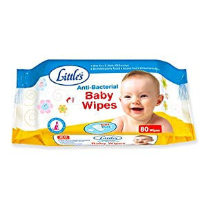 Little's Baby Wipes (80 Sheets)