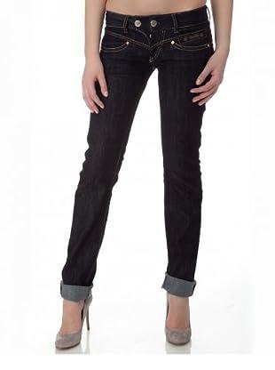 Herrlicher Jeans Tight stretch Low Rise (Dunkelblau)