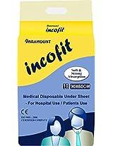 "Incofit Under Sheet / Under pads, Pack of 10, 60-90cm (23.6""-35.4"")"