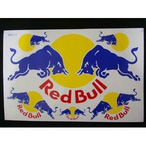 【クリックでお店のこの商品のページへ】【STICKER】RED BULL(レッド・ブル)ステッカー(L)-BL1