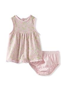 Lucky Jade Elephant Dress/Bloomer Set (Pink)