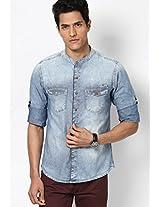 Light Blue Denim Shirt Spykar