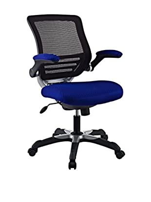 Modway Edge Office Chair, Blue