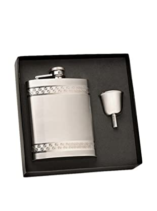 Wilouby Stainless Steel Flask in Gift Box with Funnel