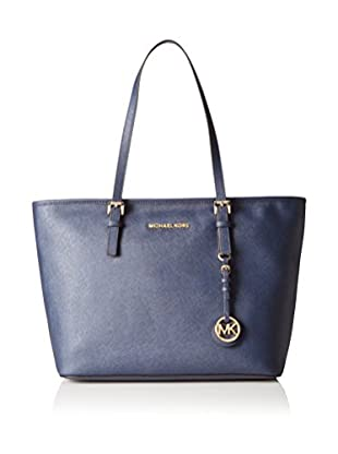 Michael Kors Bolso shopping Jet Set Travel Saffiano Top-Zip Tote