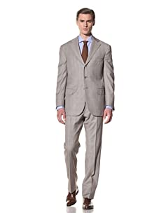 Domenico Vacca Men's Suit (Beige)