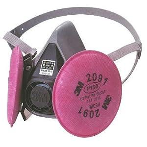 【クリックで詳細表示】防じんマスク M No.6000/2091-RL3