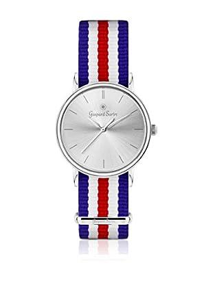 Gaspard Sartre Uhr La Variée blau/rot/weiß 36  mm