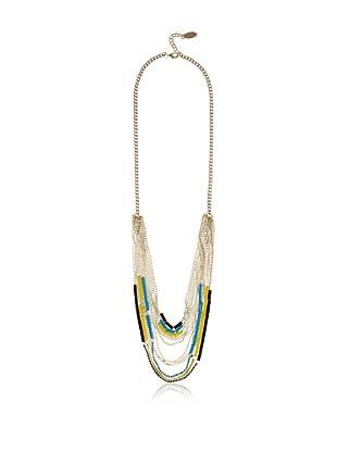 Adia Kibur Cascading Multi-Chain Necklace