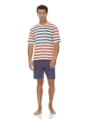 Abanderado Pijama Rayas (Multicolor)