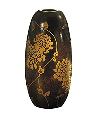Dale Tiffany Preston Decorative Vase, Amber